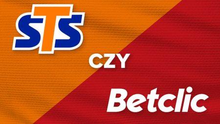 STS czy Betclic – który bukmacher jest lepszy?